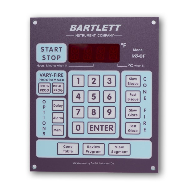Bartlett Controller bartlett v6 cf controller cone art kilns  at nearapp.co
